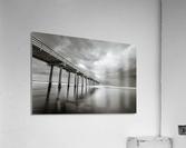 B&W Scripps Pier San Diego  Acrylic Print