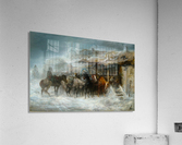 Shelter from the Blizzard  Acrylic Print