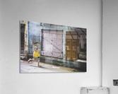 Varanasi Window - The girl  Acrylic Print