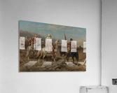 Arab caravan patrol  Acrylic Print