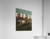 Arabs riding horses  Acrylic Print