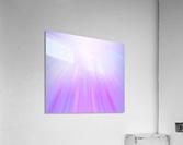 Purple Angel  Acrylic Print