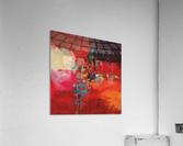 CASCADA ROJA  Acrylic Print