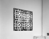 Blackandwhitegeometricgeometrypattern  Acrylic Print