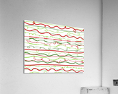 scribble pattern  Acrylic Print
