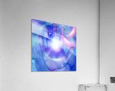 Human Eye and Palm  Acrylic Print