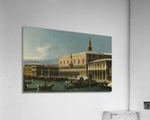Venice, a view of the Molo, looking West, with the Palazzo Ducale and south side of the Piazzeta  Acrylic Print