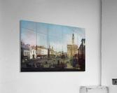 The Piazza della Signoria in Florence  Acrylic Print
