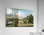 Pirna - The Obertor from the South  Acrylic Print