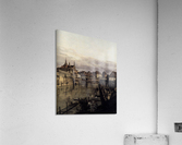 The Moat of the Zwinger in Dresden  Acrylic Print
