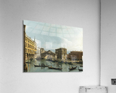 Venice. View of the Grand Canal with the Rialto Bridge, Seen from the North  Acrylic Print