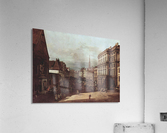 View of Vienna, flour market of Southwest seen from northeast  Acrylic Print
