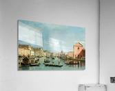 The Grand Canal facing Santa Croce  Acrylic Print