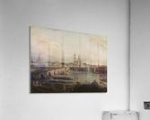 Dresden, die Altstadt Dresdens vom Neustadter Bruckenkopf  Acrylic Print