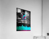 Miami Heat Vice  Acrylic Print