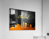 Cleveland Ohio Skyline Wall Art  Acrylic Print