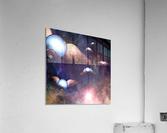 Winged Light Bulbs  Acrylic Print
