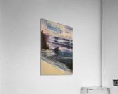 Watercolor Beachscape  Acrylic Print