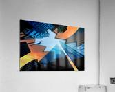 london skyscraper lighting contrast_1588277165.5591  Acrylic Print