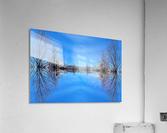Cloudes 96  Impression acrylique