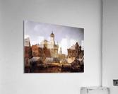 View On Utrecht Sun  Acrylic Print