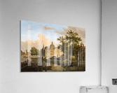 View of a Dutch City  Acrylic Print