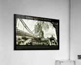 Vintage London Tower Bridge  Acrylic Print