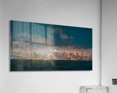 Cloudy San Francisco Night Skyline  Acrylic Print