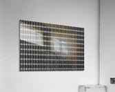 Black and White Skyscraper Windows  Acrylic Print
