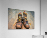 Worn Out Boots  Acrylic Print