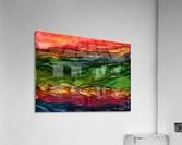 Kaleidoscope Canyon  Acrylic Print