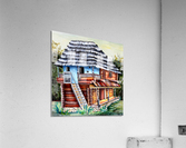 Romania Transylvania  Heritage House  Acrylic Print