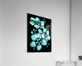Harmonious Artdeco Floral Pattern   Acrylic Print