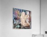 MermaidPondering  Acrylic Print