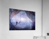 Man in Universe  Acrylic Print