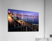 Swansea Bay at night  Acrylic Print