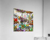 hip hop background  Acrylic Print