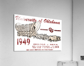 University of Oklahoma Gift Ideas for Sooner Fans  Acrylic Print