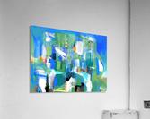 Azure Ascent  Acrylic Print