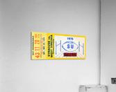 ticket wall art  Acrylic Print