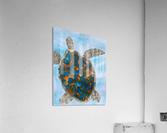 Turtle Island Breaths Again  Acrylic Print