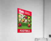 1980 Pac 10 Football Poster  Acrylic Print