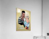 Tarantino: True Romance - Clarence and Alabama  Acrylic Print