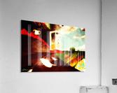 Spacetime Phone Box RLM  Acrylic Print