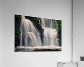 Waterfalls in Penllergare woods  Acrylic Print