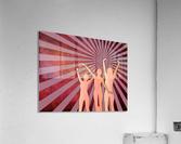Dancing Girls  Acrylic Print