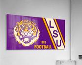 1982 LSU Football  Acrylic Print