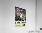 1986 providence basketball poster  Acrylic Print