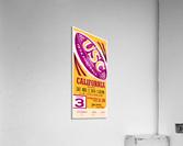 1974 usc california football ticket stub reproduction print  Acrylic Print