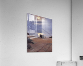 Boats in the moonlight on South Beach by Anna Ancher  Acrylic Print